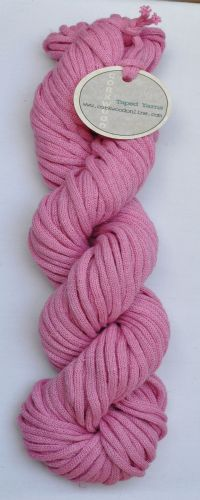 Rose cotton/linen mix ChunkyTape yarn 100g skein